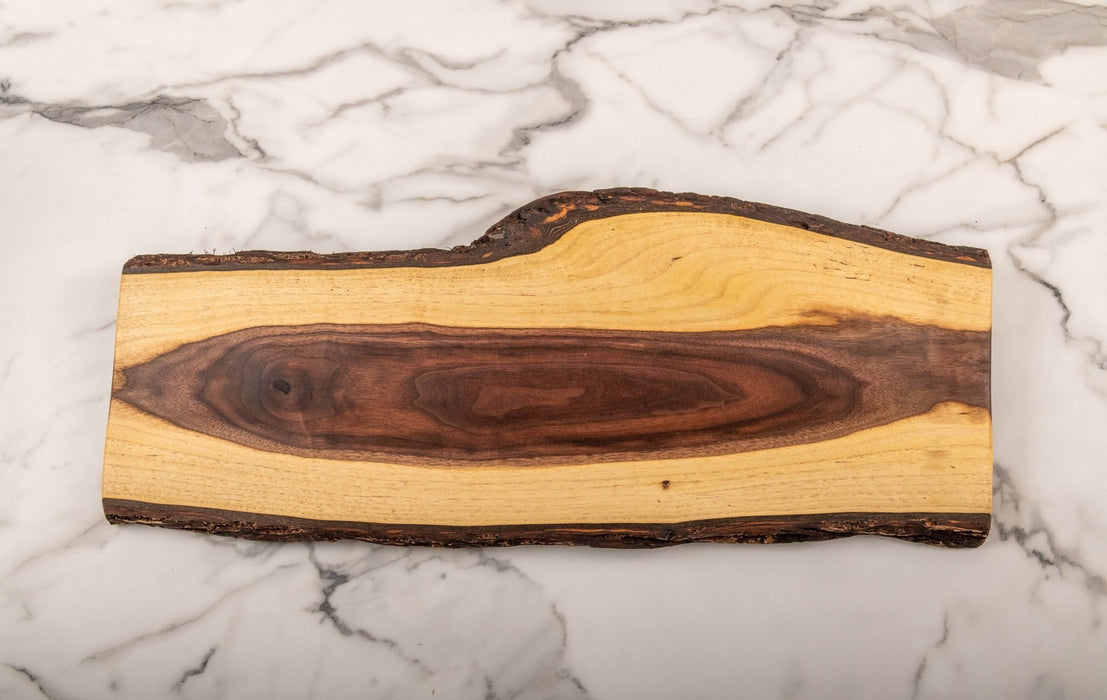 Inside Out - Black Walnut Grazing Board - Artfest Ontario - Live Edged Woodcraft - woodwork