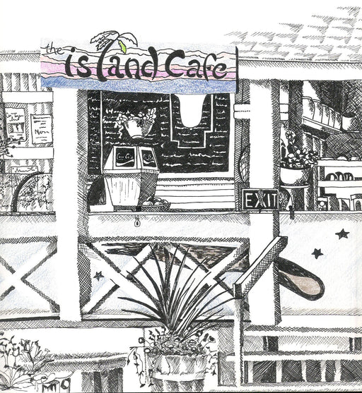 Island Cafe - Artfest Ontario - Lory MacDonald - Paintings, Artwork & Sculpture