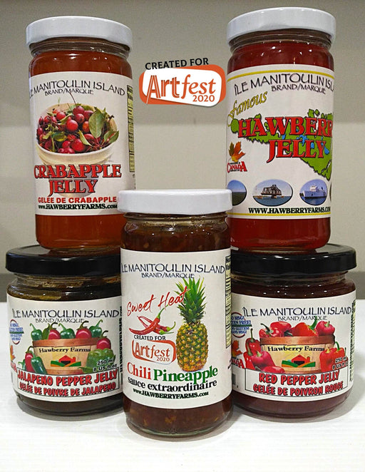 Jelly Belly Collection - Artfest Ontario - Manitoulin Gourmet / Hawberry Farms -