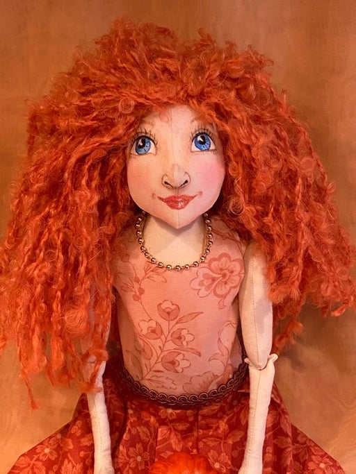 Jessica Art Doll - Artfest Ontario - Tamara's Treasured Shop - Home Decor