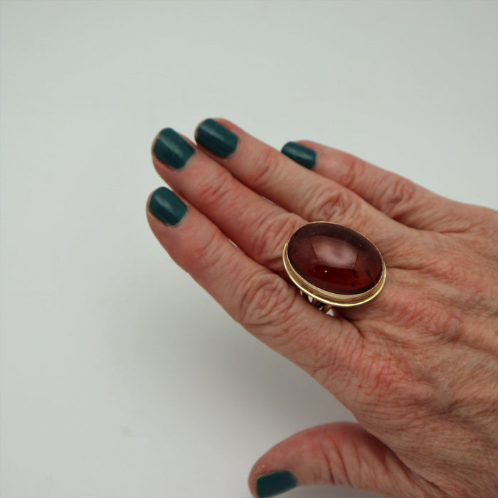 Julianne - Tourmaline 14K Gold Ring - Artfest Ontario - Devine Fine Jewellery - Ring