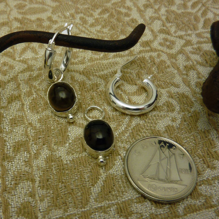 Julie - Smokey Quartz - Artfest Ontario - Devine Fine Jewellery - Earrings