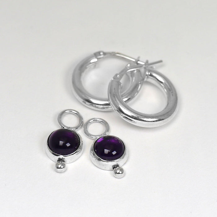 Kate - Amethyst - Artfest Ontario - Devine Fine Jewellery - Earrings