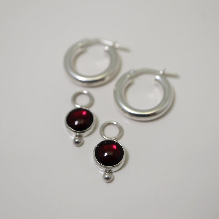 Kate - Garnets - Artfest Ontario - Devine Fine Jewellery - Earrings
