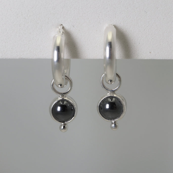 Kate - Hematite - Artfest Ontario - Devine Fine Jewellery - Earrings