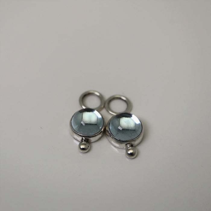 Kate - Sky Blue Topaz - Artfest Ontario - Devine Fine Jewellery - Earrings