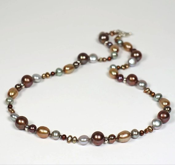 Kimberly Pearl Necklace - Artfest Ontario - Devine Fine Jewellery - Pendant/ Necklace