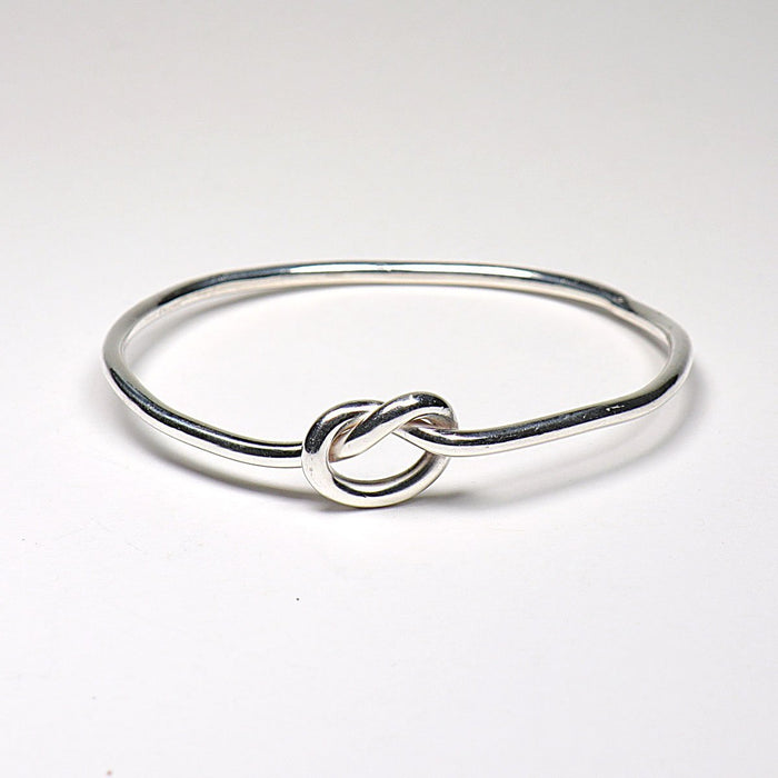 Knotty- Sterling Silver Bangle - Artfest Ontario - Devine Fine Jewellery - Bracelet/ Bangle