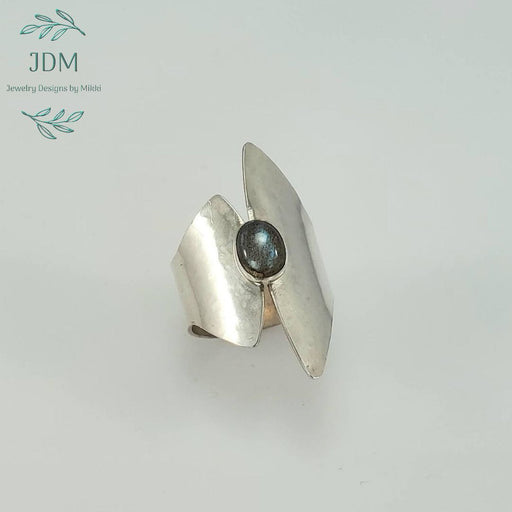 Labradorite Ring -JDM Jewelry Designs by Mikki - Artfest Ontario - JDM - Jewelry Designs by Mikki - Jewelry & Accessories