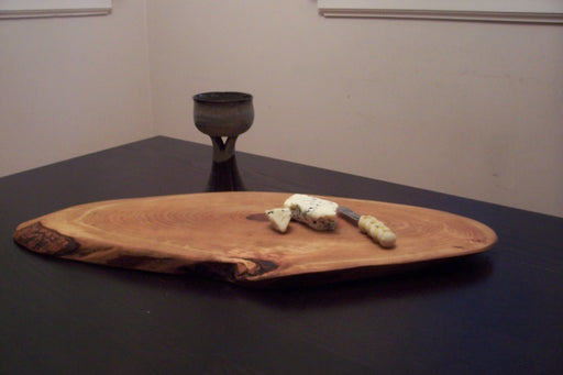 Large Live Edge Cherry Charcuterie Board - Artfest Ontario - Live Edged Woodcraft - Woodwork