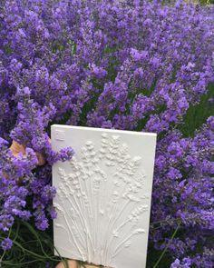 Lavender Mini Botanical Cast - Artfest Ontario - Botanical Art By Diane - Botanical Casts
