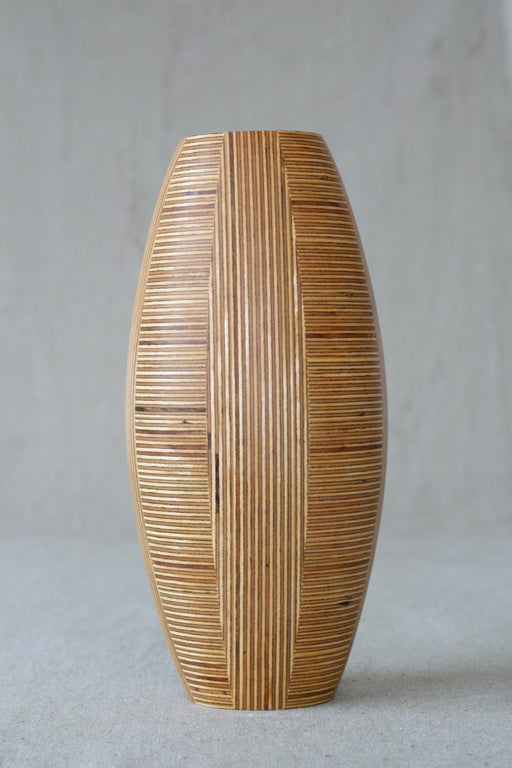 Lewitt Design Sealed Wooden Vase - Artfest Ontario - Merganzer Furniture - Furniture & Houseware