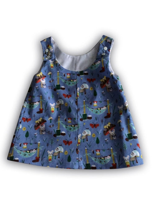 Little Mouse Pinafore aged 1 year - Artfest Ontario - Muffin Mouse Creations - Clothing & Accessories