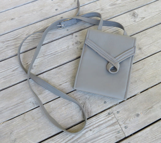 Loop, tall – grey with grey loop - Artfest Ontario - Arrowsmith Leather - Clothing & Accessories