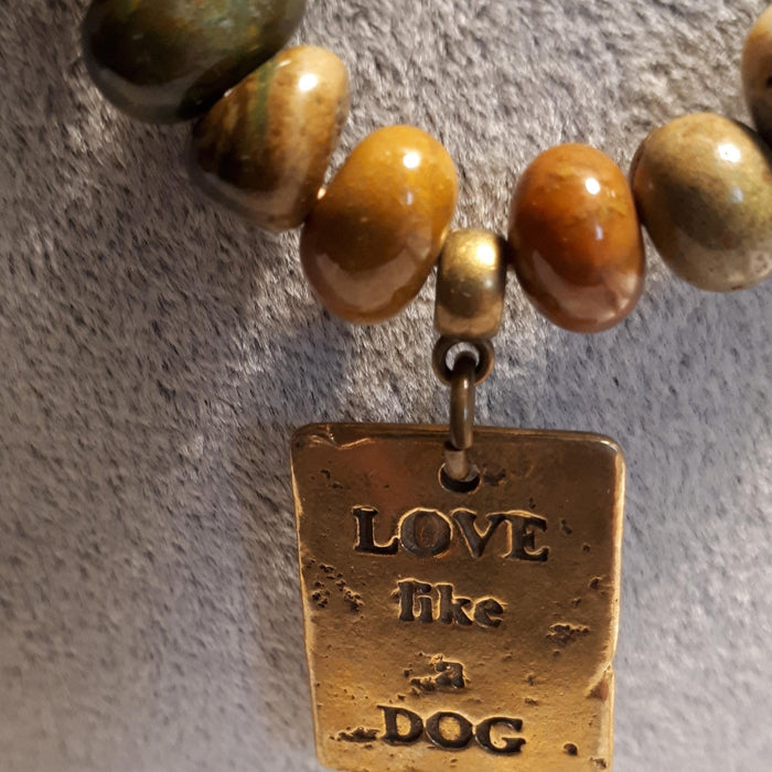 Love Like A Dog - Artfest Ontario - Moosonee Puppy Rescue - Jewelry & Accessories