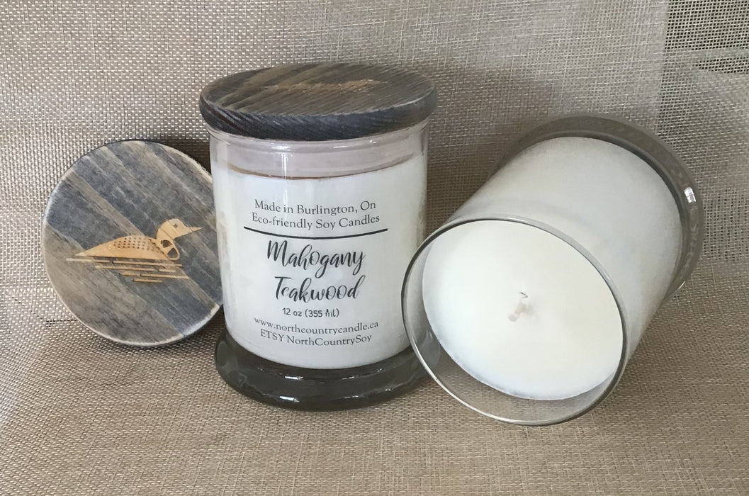 Mahogany Teakwood - Artfest Ontario - North Country Candle - Furniture & Houseware
