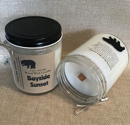 Mama Bear Candle –Bayside Sunset - Artfest Ontario - North Country Candle - Furniture & Houseware