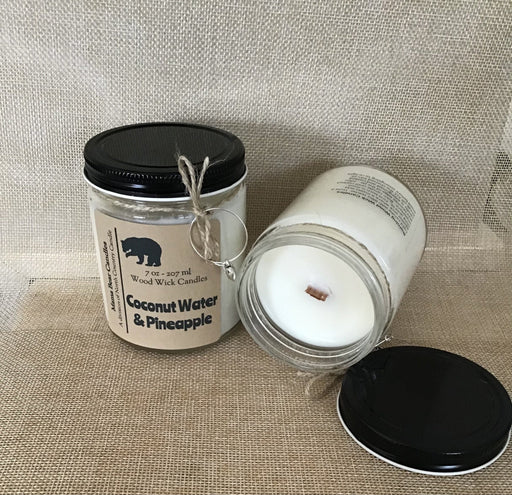Mama Bear Candle – Coconut Water & Pineapple - Artfest Ontario - North Country Candle - Furniture & Houseware
