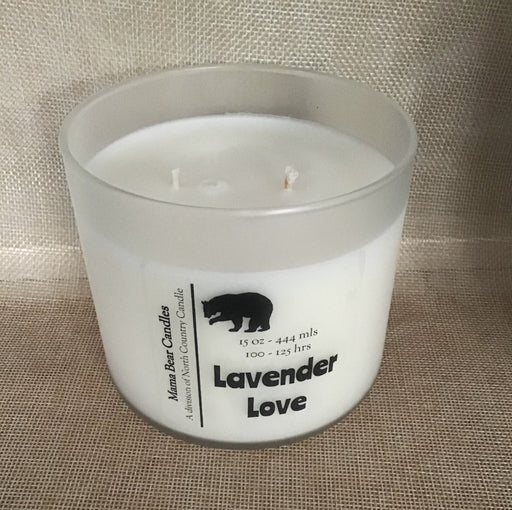 Mama Bear Candles – Lavender Love - Artfest Ontario - North Country Candle - Furniture & Houseware