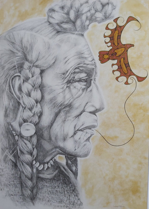 Medicine Man - Artfest Ontario - Halina Stopyra - Paintings, Artwork & Sculpture