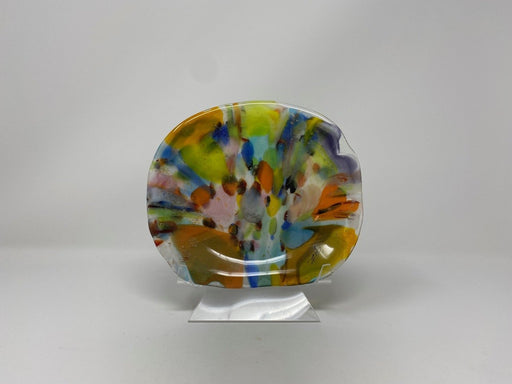 Melting Petals Dish - Artfest Ontario - Shardz Art Glass - Glass Work