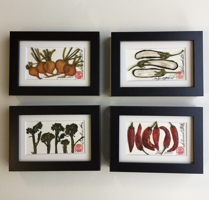 Mini Gold Beet Frame - Artfest Ontario - Botanical Art By Diane -