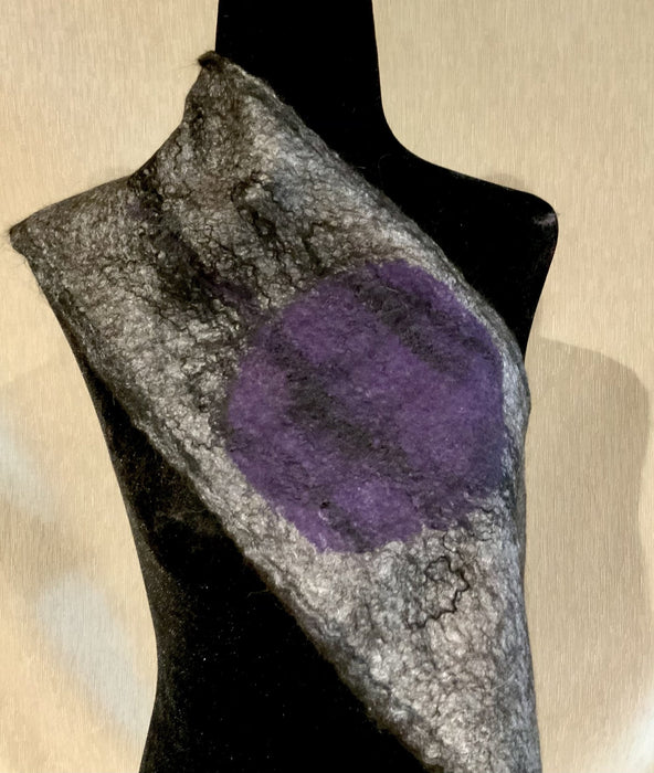 Moons - Artfest Ontario - Love to Felt Artwear - Clothing & Accessories