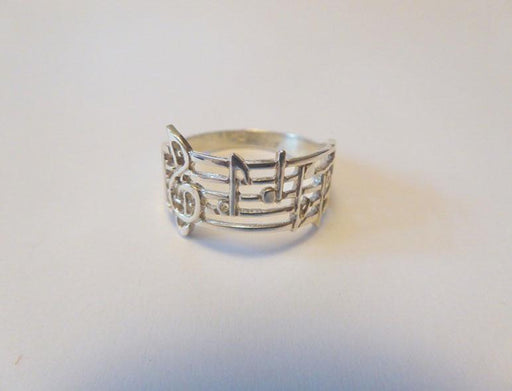 Music Maestro Sterling Silver Ring - Artfest Ontario - Delicate Touch Jewellery - Fine Jewellery