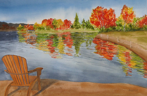 Muskoka Fall - Artfest Ontario - PetrArts - Paintings -Artwork - Sculpture