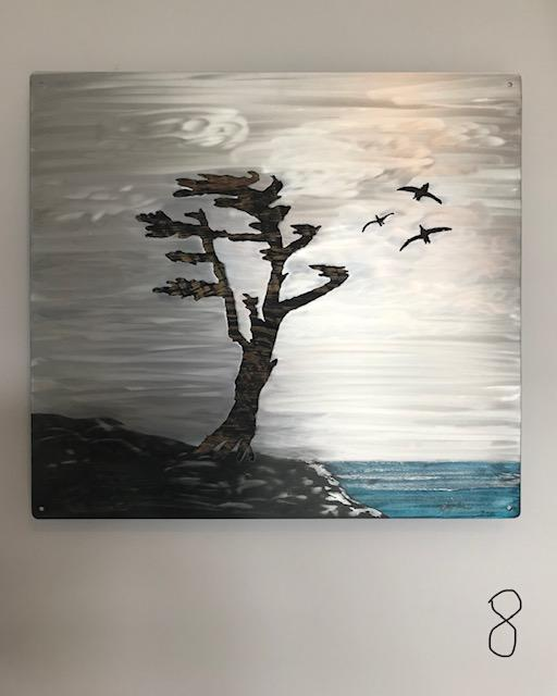 Muskoka Wind - Artfest Ontario - Art In Metal - Paintings, Artwork & Sculpture