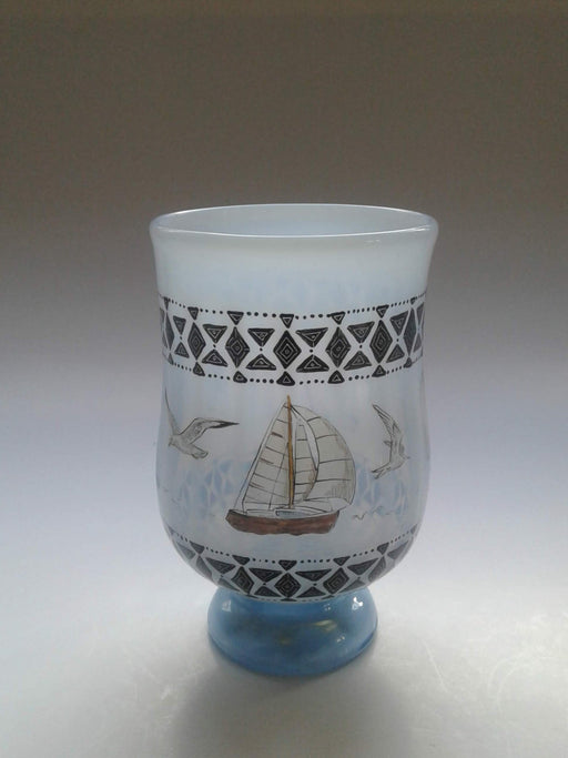 Nautical Tumbler - Artfest Ontario - Lukian Glass Studios - Glass Work