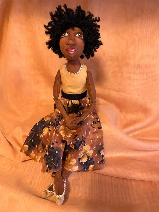 Niesha Art Doll - Artfest Ontario - Tamara's Treasured Shop - Home Decor