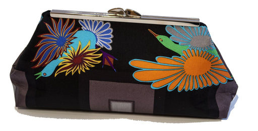 Night Migration Clutch (Black) by Aoudla Pudlat - Artfest Ontario - Inunoo - Clutches