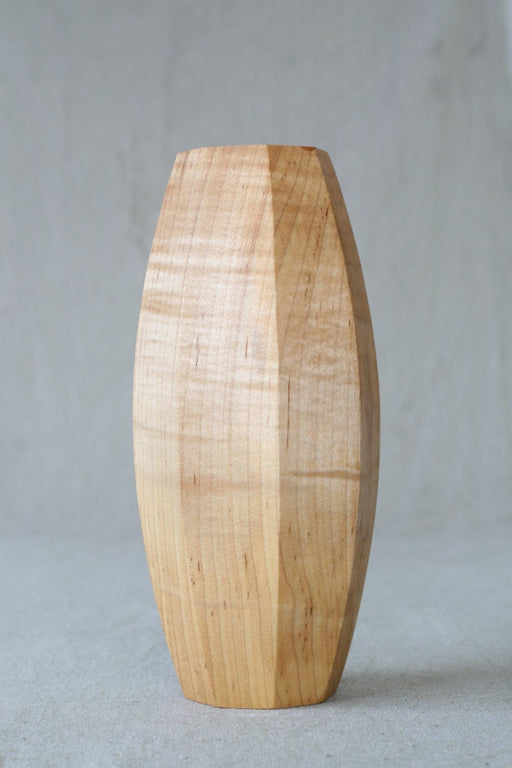 Octagon Design Sealed Wooden Vase - Artfest Ontario - Merganzer Furniture - Furniture & Houseware