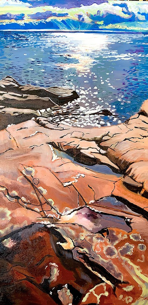 On the Rocks in October, Killarney Provincial Park - Artfest Ontario