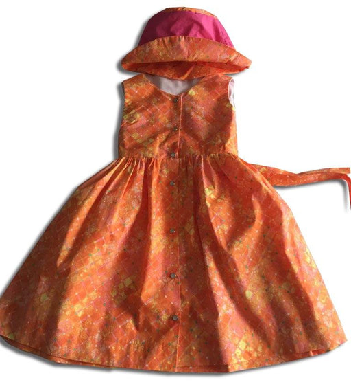 Orange Popsicle Dress - Artfest Ontario - Muffin Mouse Creations - Clothing & Accessories