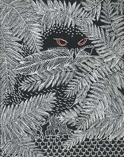 Owl #10 - Artfest Ontario - Elena Gorlenko Prints - Paintings -Artwork - Sculpture