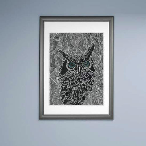 Owl #3 - Artfest Ontario - Elena Gorlenko Prints - Paintings -Artwork - Sculpture