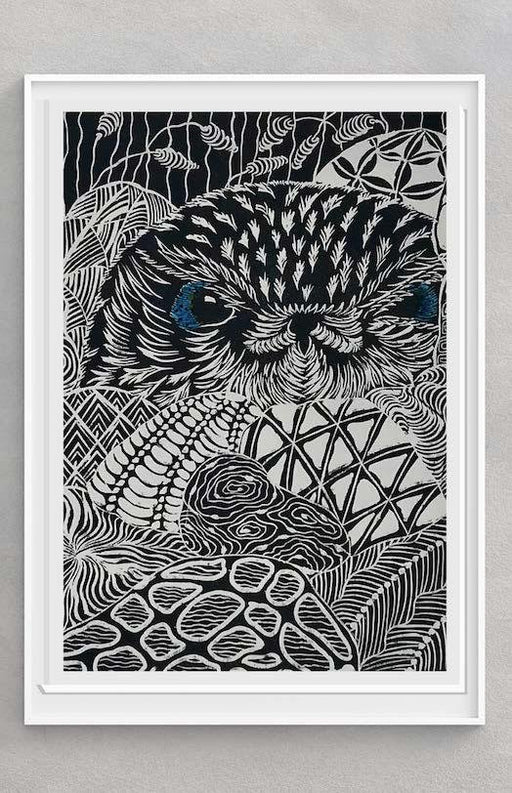 Owl #5 - Artfest Ontario - Elena Gorlenko Prints - Paintings -Artwork - Sculpture