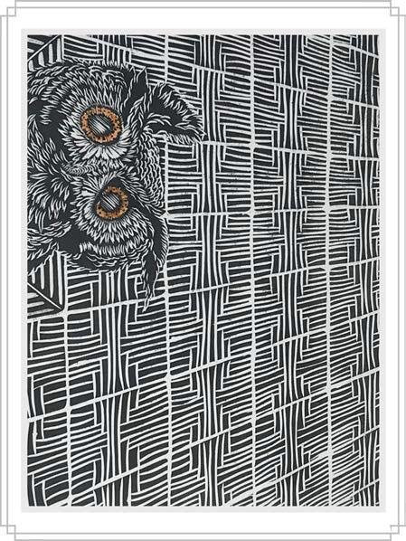 Owl #6 - Artfest Ontario - Elena Gorlenko Prints - Paintings -Artwork - Sculpture