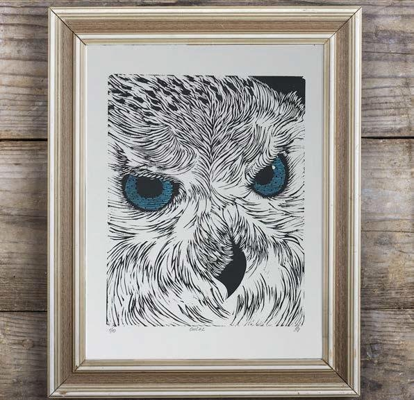 Owl - Artfest Ontario - Elena Gorlenko Prints - Paintings -Artwork - Sculpture