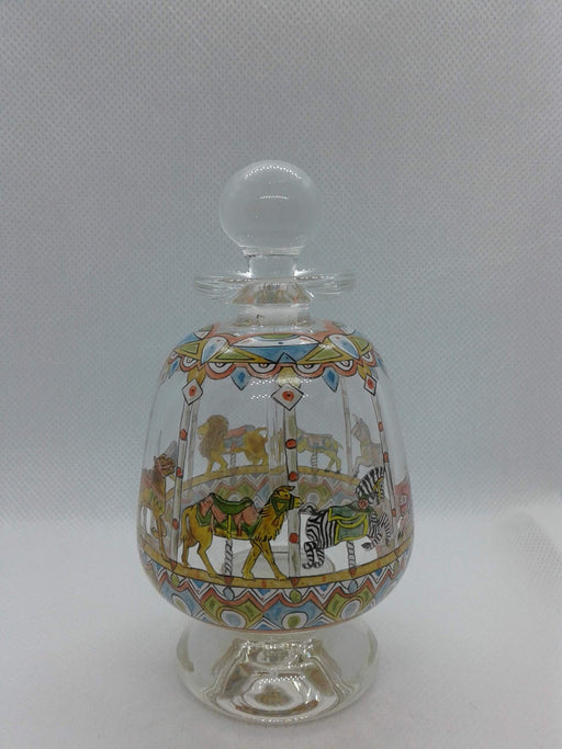 Painted Perfume Bottle Carousel - Artfest Ontario - Lukian Glass Studios - Glass Work