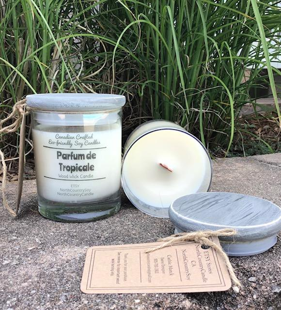 Parfum de Tropicale Soy Candle - Artfest Ontario - North Country Candle - Furniture & Houseware