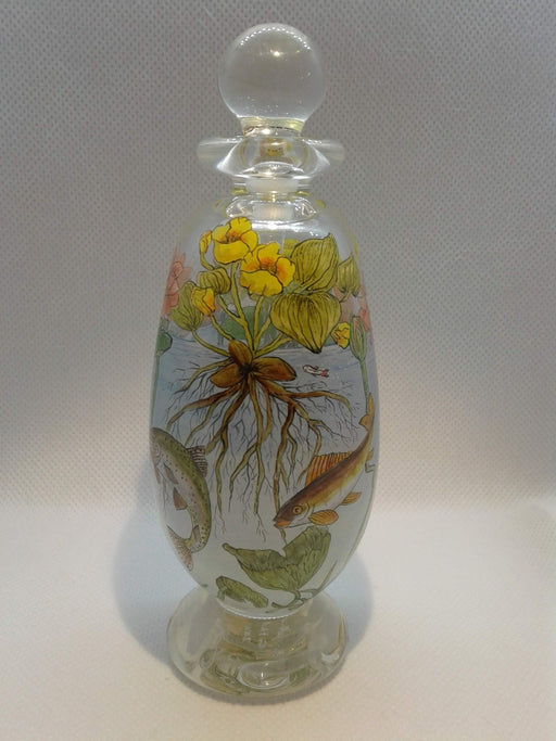 Perfume Bottle-The Pond - Artfest Ontario - Lukian Glass Studios - Glass Work