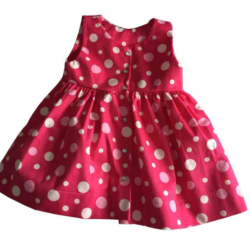 Pink Polka Dress - Artfest Ontario - Muffin Mouse Creations - Clothing & Accessories