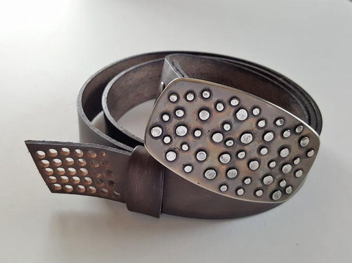Polka Dot Belt Buckle - Artfest Ontario - Iron Art - Clothing & Accessories