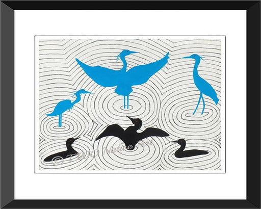 Poster Print - Herons and Loons – The Water Dance - Artfest Ontario