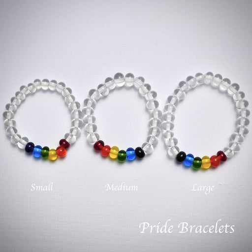 Pride Bracelets - Artfest Ontario - Fire & Flame Glassworks - Glass Work