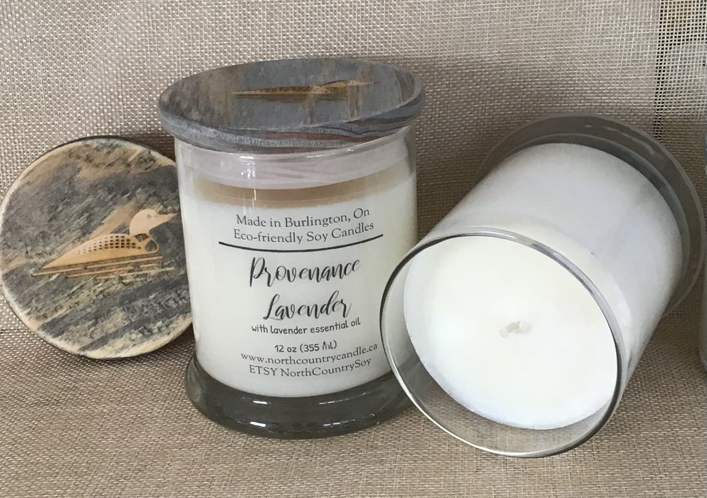 Provenance Lavender with Lavender Essential Oil - Artfest Ontario - North Country Candle - Furniture & Houseware