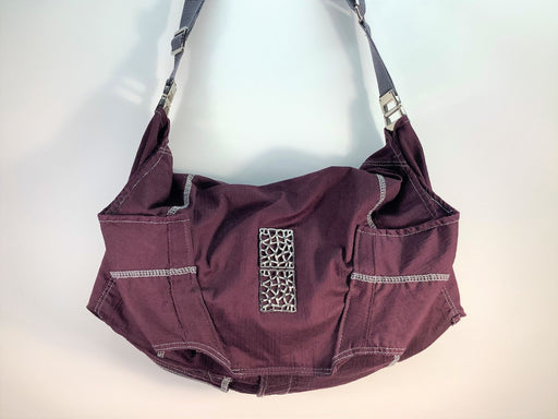 Prune Crossbody Hobo Bag #1896 - Artfest Ontario - Revoila Handbags - Clothing & Accessories